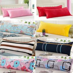 1.2/1.5m Fashion Soft Bed Long Body Pillow Cover Protector P