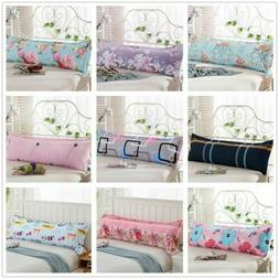 1.2/1.5m Fashion Bed Long Body Pillow Cover Protector Pillow