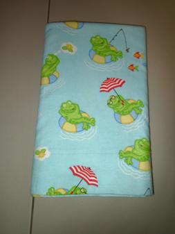 1-Daydreaming Summer Frogs  Body Pillow Pillowcase 20 x 48""