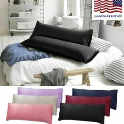 1 Pack Body Pillow Case Soft Microfiber Long Bedding Long Bo