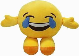12 Inches Emoji Figure Pillow Thick Stuffed Emoji Cushion Do
