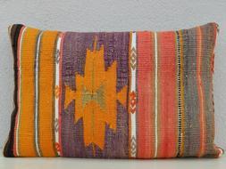 16'' X 24'' Body Pillow Cover, Decorative Throw Pillows, Ora