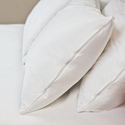 HIPPIH 2 Packs Standard Pillow Protectors - Protects against