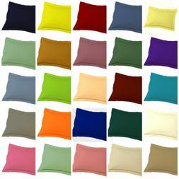 2 PC Pillow Case or Shams Egyptian Cotton 1000 Thread Cotton