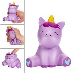 2018 Newest Joyful Unicorn Slow Rising Squishy Toys, E-SCENE