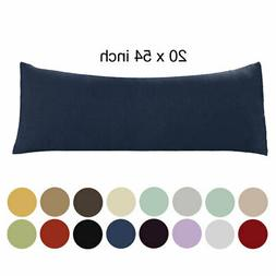 20x54 Body Pillow Case Soft 1800 Series Microfiber 1/2pack L