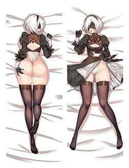HH ART 2B - Nier Automata Anime Hug Full Body Pillowcases Tw