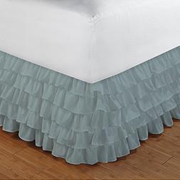 Floris Fashion King XL 300TC 100% Egyptian Cotton Aqua Blue