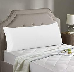 Evolive 300TC Thread Count 100% Cotton Body Pillow Cover/Pil