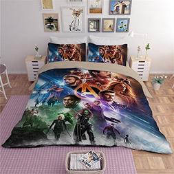 NOOS 3D Avengers Bedding Sets 2018 New Best Gifts for Bed Sh
