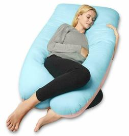 55 full body u shaped pregnancy pillow