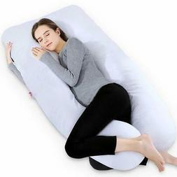 Meiz 55 Inch Pregnancy Pillow - U Shaped Body Pillow - for P