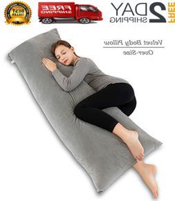 INSEN 55in Body Pillow-Full Pillow- Long Side Sleeping Velve