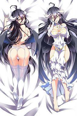 "59"" Japan Hot Anime OVERLORD Albedo Dakimakura Hugging Body"