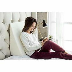 Brentwood Home Zuma Therapeutic Foam Bed Wedge Pillow, Made