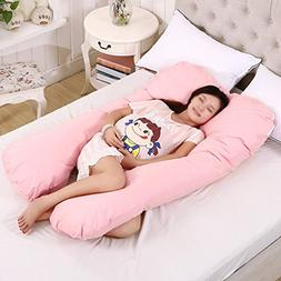 Full Body Pregnancy Maternity Pillow Belly & Back Support Cu