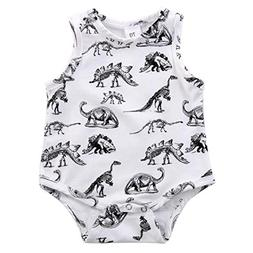 Gotd Newborn Infant Baby Girl Boy Jumpsuit Romper Bodysuit O