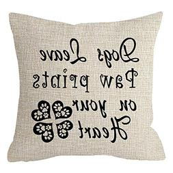 ITFRO Pet Dog Lover Gift Funny Quote Sayings Words Dog Leave
