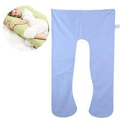 Maternity / Pregnancy U Shape Pillow Cover, Cotton Soft Full