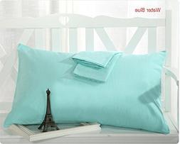 """MoonRest - %100 Cotton Body Pillow Pillowcase w/ Zipper 21"""""""