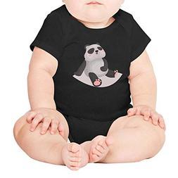 PPLOPO Sweet and Funny Panda Romper Bodysuit Cute Short Slee