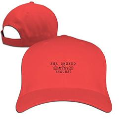 Queens Are Born In January Baseball Cap Fashion Unisex Plain