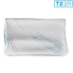Rest Home Collections Eco-Cool Bamboo Pillow Cover with Zipp