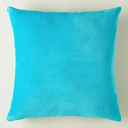 """"""" Turquoise """" Solid Pattern Pillow Shams Available in All P"""