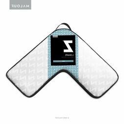 Z Gel Memory Foam L-Shape Pillow for Side Sleeping Comfort