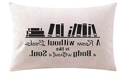 A Room Without Books is like a body wthout a soul Cotton Lin