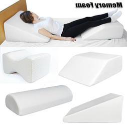 Acid Reflux Foam Bed Wedge Pillow Leg Elevation Back Support