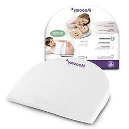 Mooomy Acid Reflux Pillow for Newborns - Improve Sleep Posit