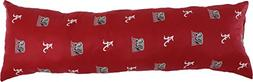 "College Covers Alabama Crimson Tide Printed Body Pillow, 20"""
