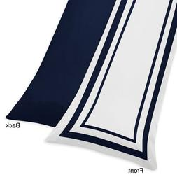 Sweet Jojo Designs Anchors Away Nautical Navy and White Full