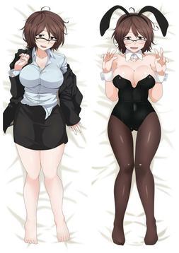 Anime Girls und Panzer Dakimakura Hugging Body Pillow Case C