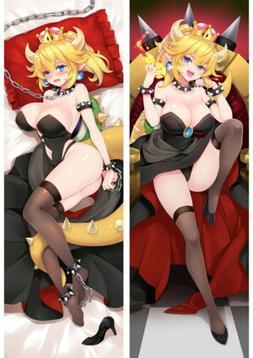 anime super mario dakimakura bowsette princess bowser