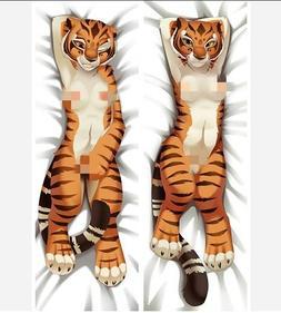 Anime Tiger girl Dakimakura Hugging Body Pillow Case Covers