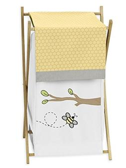 Sweet Jojo Designs Baby/Kids Clothes Laundry Hamper for Yell