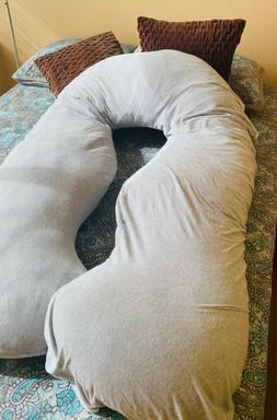 Leachco Back 'N Belly Pregnancy/Maternity Body Pillow with s