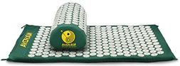 Nayoya Back and Neck Pain Relief - Acupressure Mat and Pillo