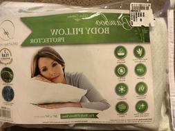 Bamboo Pillow Protector Body pillow size Size 20 × 54