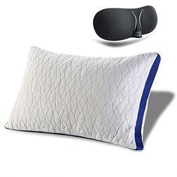 Babymommy Bamboo Shredded Memory Foam Pillow sleep mask Pill