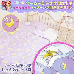 Bandai Sailor Moon  Bed Sheet Pillow Case Cotton Cute Quilt