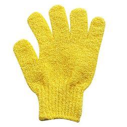 YJYdada 2Pair Bath Scrub mitt Gloves Massage Scrubber Shower