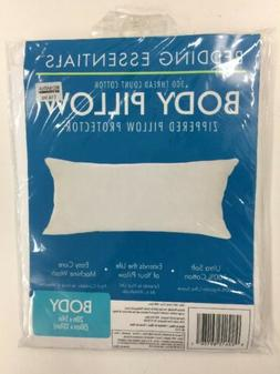 "BBB Bedding Essentials Body Zippered Pillow Protector 20"" x"