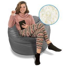 BeanBob Bean Bag Chair , 3ft - Bedroom Sitting Sack for Kids