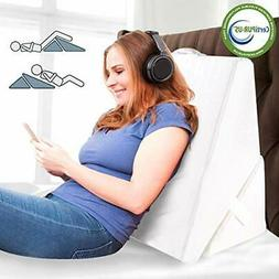 Bed Wedge&Body Positioners Pillow Folding Memory Foam Inclin