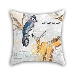 Bird Pillow Shams 20 X 20 Inches / 50 By 50 Cm Best Choice F