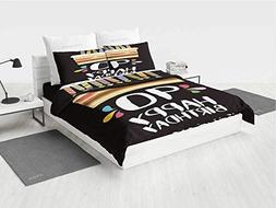 90th Birthday Decorations 4 pc Bedding Set Colorful Party Se
