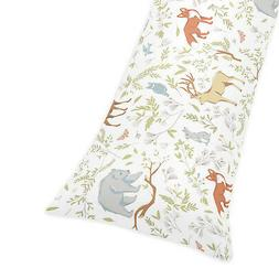 Sweet Jojo Designs Blue, Grey and White Woodland Deer Fox Be